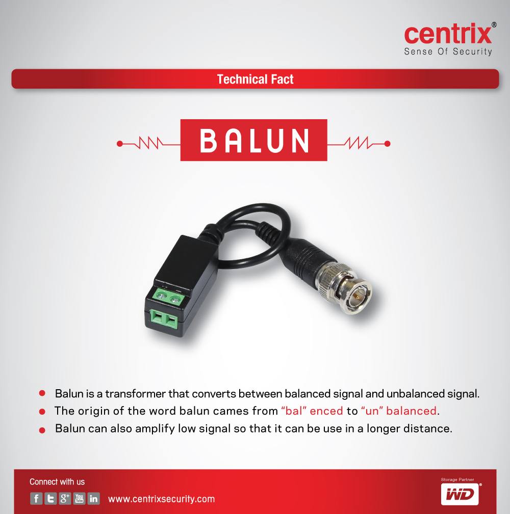 centrix-balun