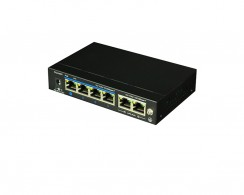 SW4GP- 4 ch Gigabit POE Switch